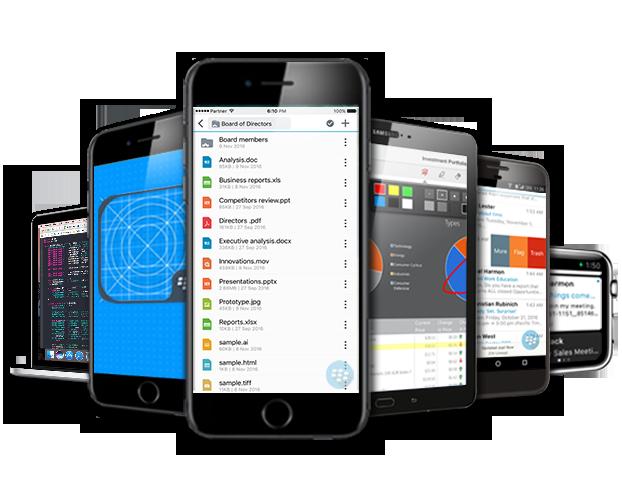 BlackBerry® Enterprise Mobility Suite™ - samtec GmbH - Safe